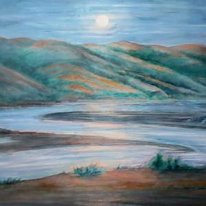 Full Moon Bolinas Lagoon