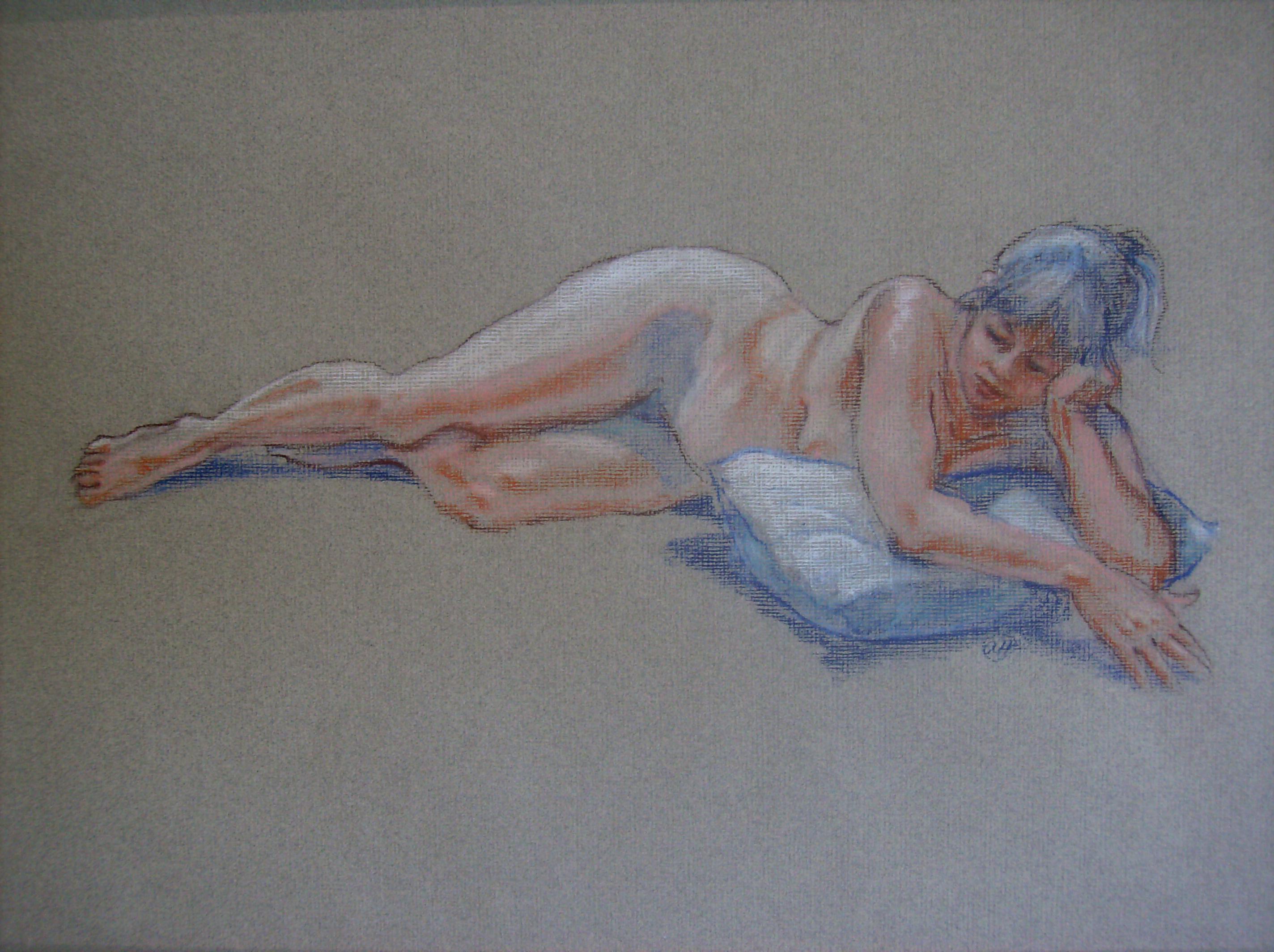 Patti on a Pillow