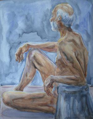 Watercolor Of Floyd